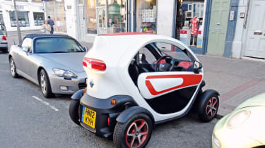 Renault Twizy parked
