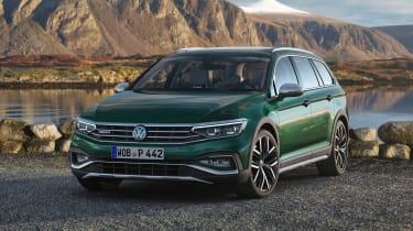 Volkswagen Passat Alltrack - front static