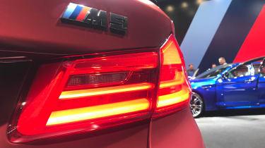 New BMW M5 - tail light