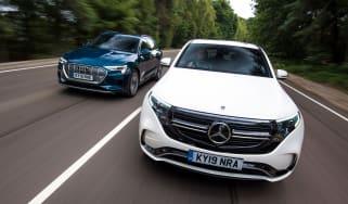Mercedes EQC Audi e-tron