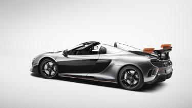 McLaren MSO R Spider rear