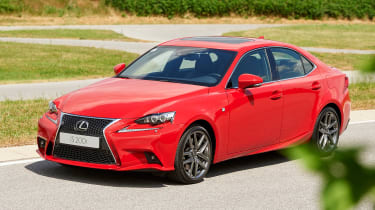 Lexus IS 200t first pic