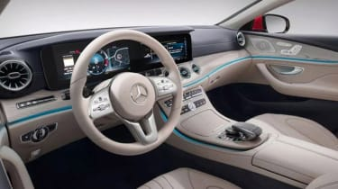 Mercedes CLS leaked pic interior