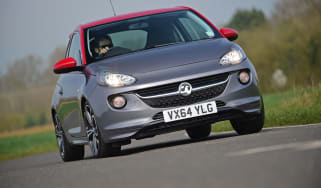Vauxhall Adam Grand Slam - cornering