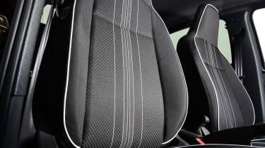 SEAT Mii electric UK - front seats