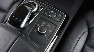 Mercedes GLE 350d - centre console