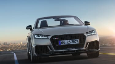Audi TT RS Roadster - full front