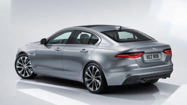 Jaguar XE - studio rear grey