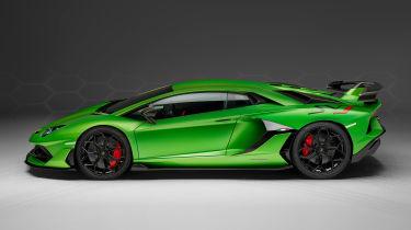 Lamborghini Aventador SVJ - side static