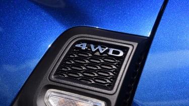 Dacia Duser 4x4 - 4WD badge