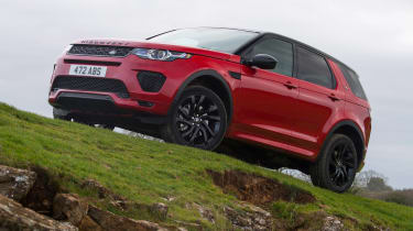 Land Rover Discovery Sport - off-road
