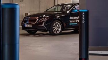 Daimler Bosch autonomous valet parking
