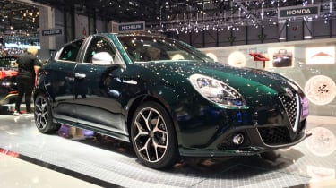Alfa Romeo Giulietta Veloce - Geneva front