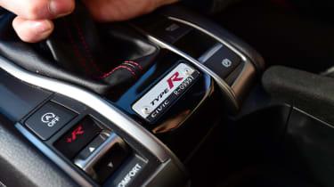 Honda Civic Type R long-term test review - gear lever