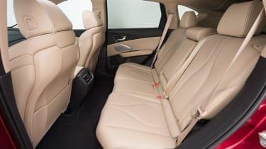 Acura RDX Prototype - back seats