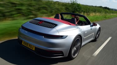 Porsche 911 Cabriolet - rear tracking