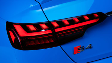 Audi S4 - rear badge