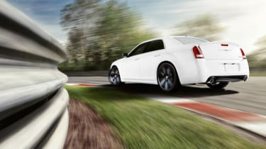 Chrysler 300C SRT8 rear cornering
