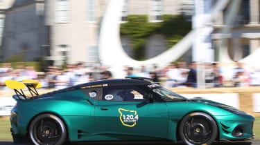 Lotus Evora GT4 - Goodwood run 2019