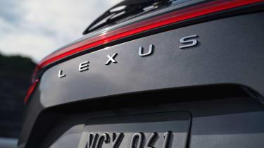 Lexus NX - rear badge