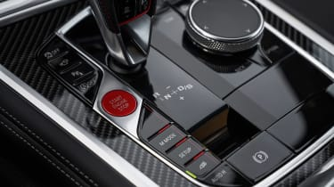 BMW M8 Competition - interior detail
