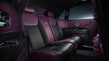 Rolls Royce Black Badge ghost cabin