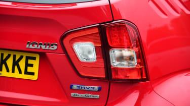 Long-term test - Suzuki Ignis - tail light