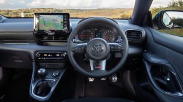 Toyota GR Yaris - dash