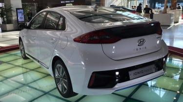 Hyundai Ioniq - Korear rear quarter 2