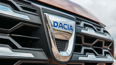 Dacia Sandero Stepway - badge