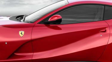 Ferrari 812 Superfast details window