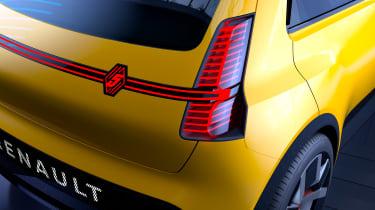 Renault 5 EV concept - rear detail