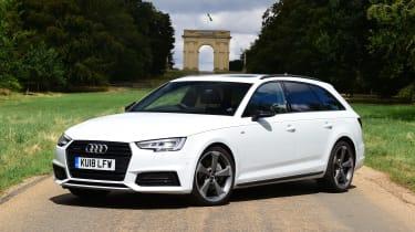 Audi A4 Avant - front static