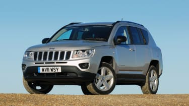 Jeep Compass front three-quarters
