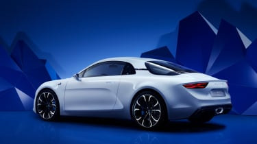 Renault Alpine Vision concept - rear quarter white