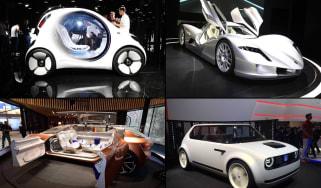Best concept cars Frankfurt 2017