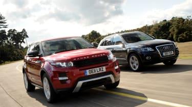 Range Rover Evoque SD4 Dynamic 5dr vs Audi Q5 TDI S line
