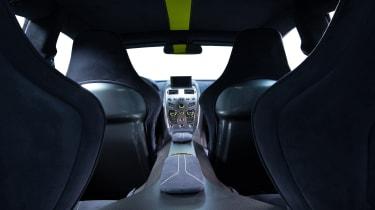 Aston Martin AMR brand - interior