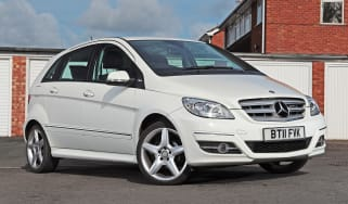 Used Mercedes B-Class - front