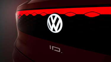 Volkswagen ID. Roomzz - rear light dark