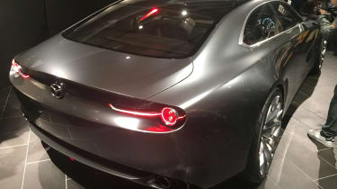 Mazda Vision Coupe concept - reveal rear
