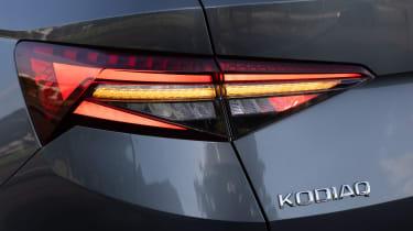 2021 facelifted Skoda Kodiaq SUV - taillight
