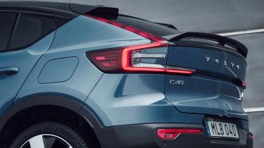 Volvo C40 Recharge - rear profile