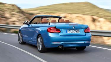 BMW 2 Series 2017 facelift rear quarter
