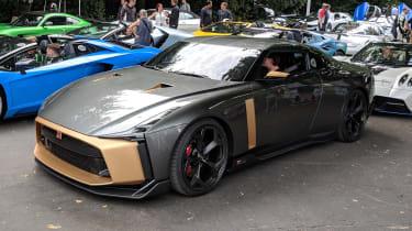 Italdesign Nissan GT-R50 front
