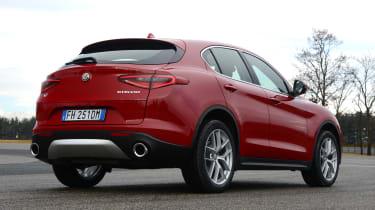 Alfa Romeo Stelvio - rear static