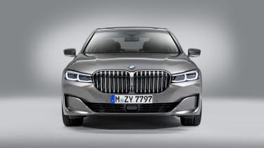 BMW 7 Series facelift - full front studio