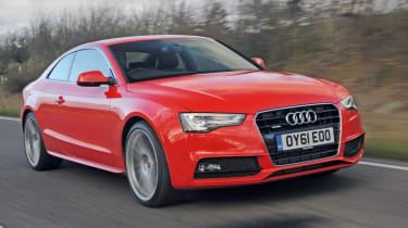Used Audi A5 Coupe - front action
