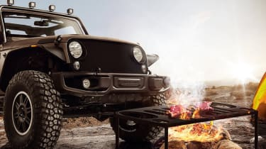Jeep Wrangler Grille Grill