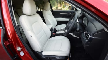 New Mazda CX-5 - front seats